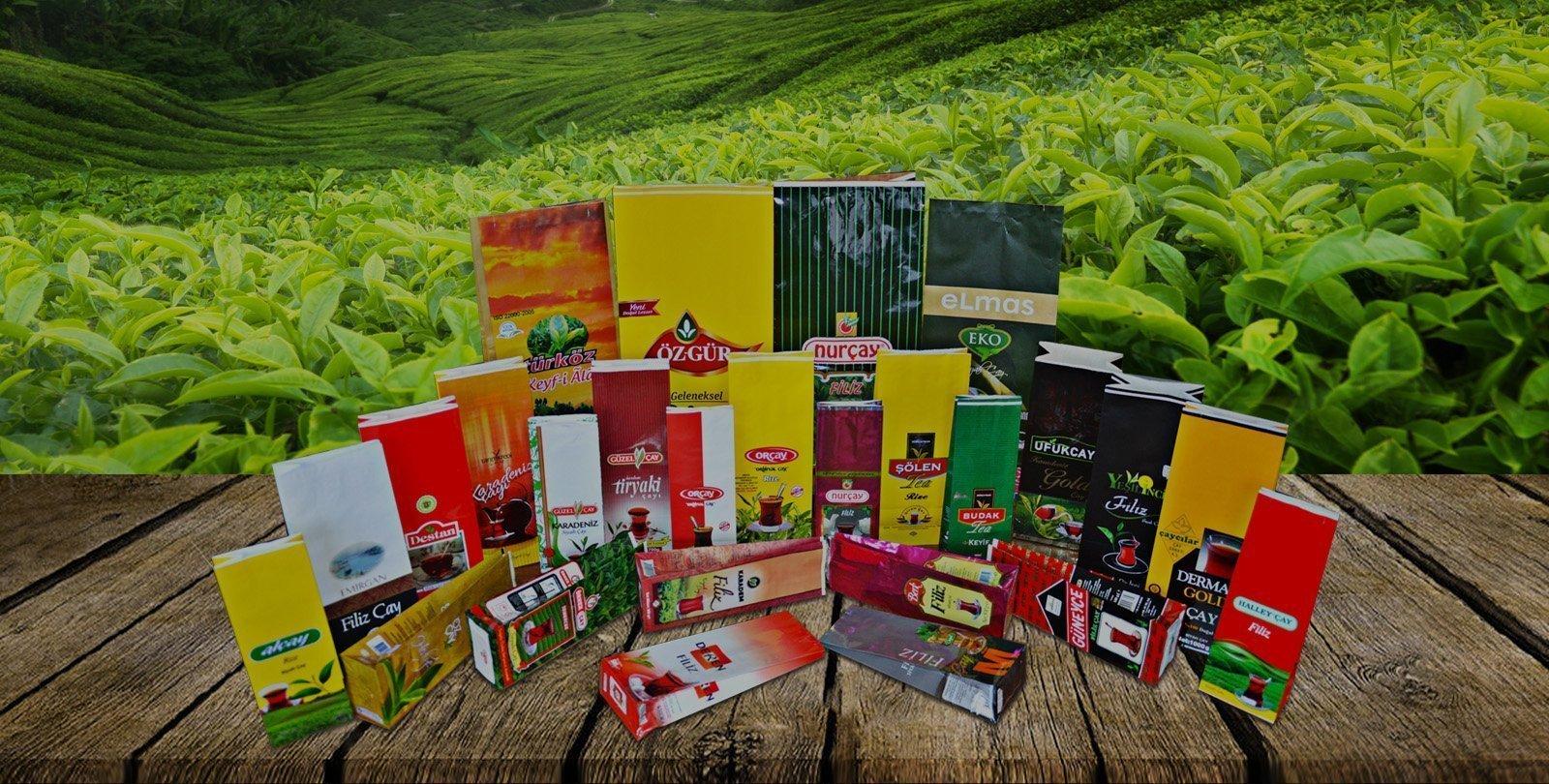 tüm boy çay paketleri
